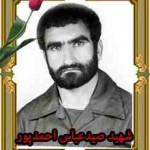 قاب شهید صیدعباس احمدپور