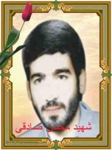 شهید محسن صادقی